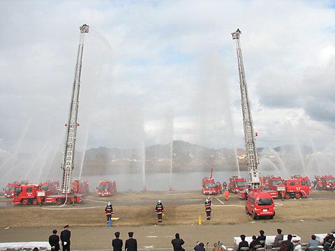 加古川市消防出初め式