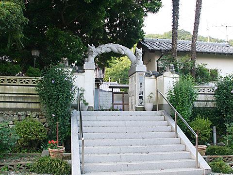 最明寺のムクゲ