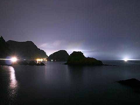 香住の夜景