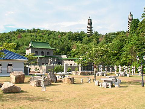 双塔寺と双塔