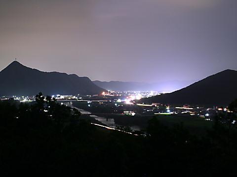 西脇市の夜景