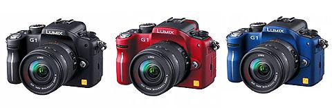 パナソニック 世界最小・最軽量のデジタル一眼カメラ DMC-G1