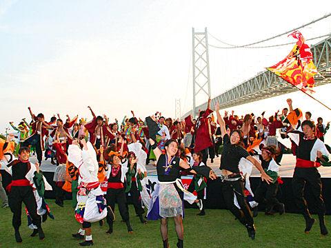 KOBE YOSAKOI 総踊り/神戸よさこいまつり2008・舞子公園