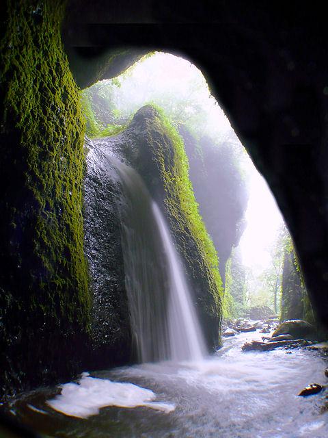 シワガラの滝・小又川渓谷