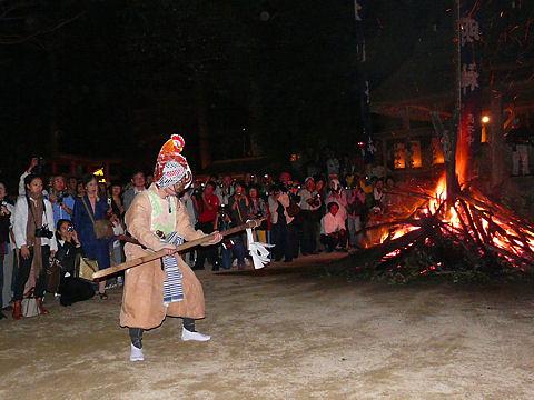 上鴨川住吉神社神事舞