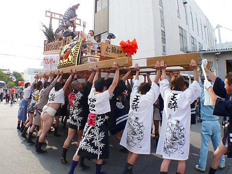 播州の秋祭り写真画像