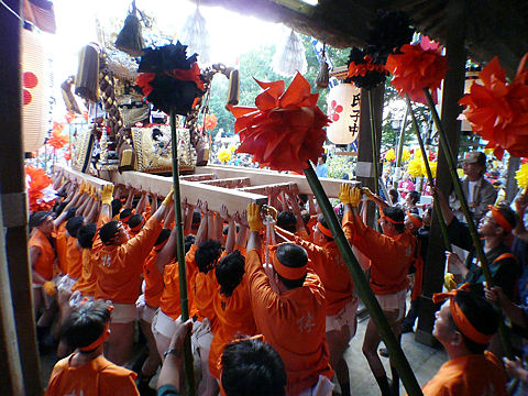 播州の秋祭り・写真画像