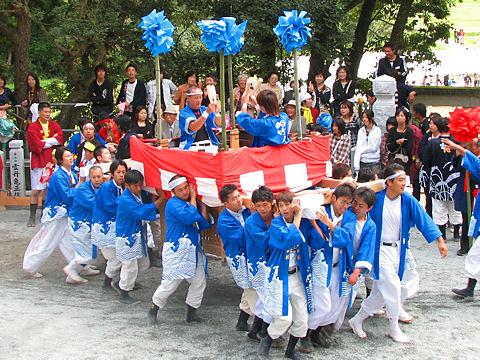 姫路の秋祭りの写真画像