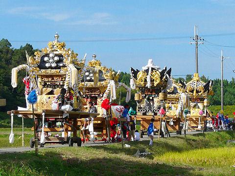播州秋祭り・獅子舞の写真画像