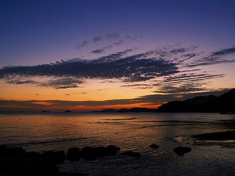 夕日・夕焼けの写真画像