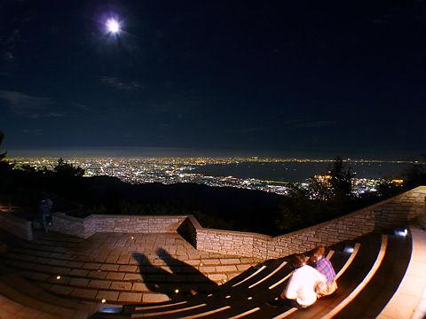 六甲山ガーデンテラスの夜景
