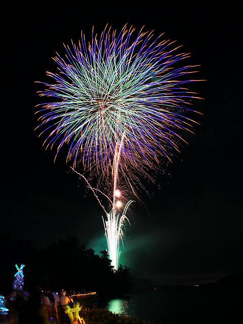 かさい夏っ彩夢フェスタ花火大会2009