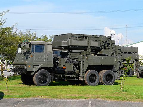 SAMミサイル射撃用レーダー