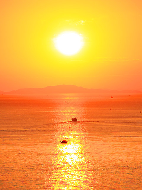 秋の夕日 夕焼け空 瀬戸内海の風景 ぶらり兵庫 ぶらり神戸 神戸の観光情報とイベント情報 楽天ブログ