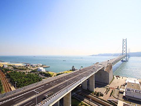 西舞子海岸・舞子砲台跡と明石 ...
