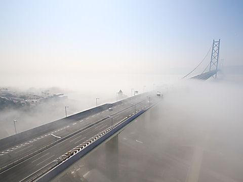 瀬戸内海の雲海・霧