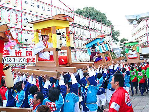 播磨国総社の初ゑびす祭・姫路のえべっさん