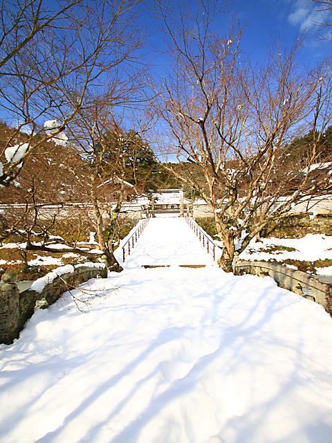 円通寺の雪景色