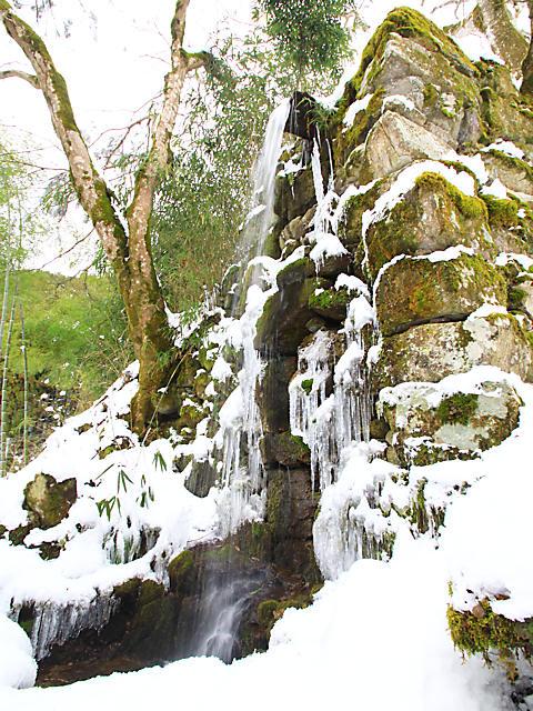氷瀑・氷滝とつらら