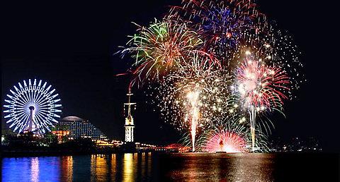神戸花火大会 ハーバーランド