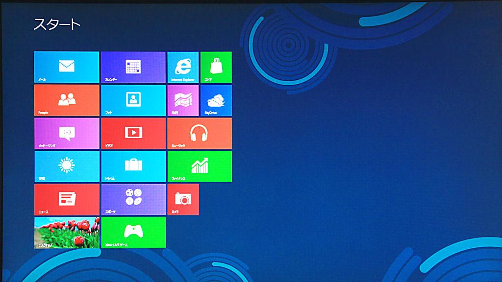Windows8のMetro(メトロ)