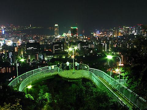 ビーナスブリッジと神戸1000万ドルの夜景