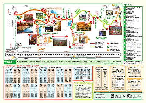 神戸紅葉スポット六甲山