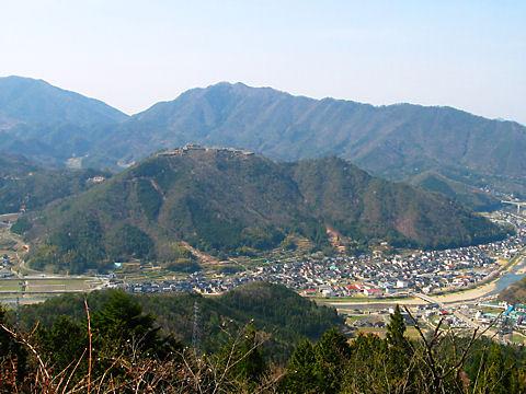 雲海の名所 竹田城跡
