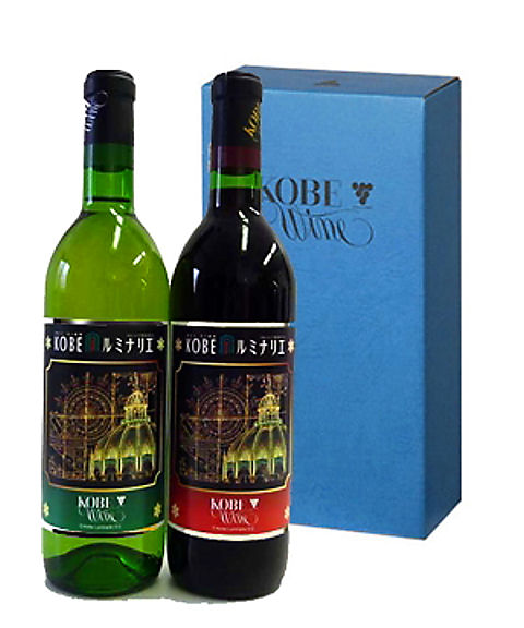 神戸ワイン・ルミナリエワイン・ルミナリエラベル