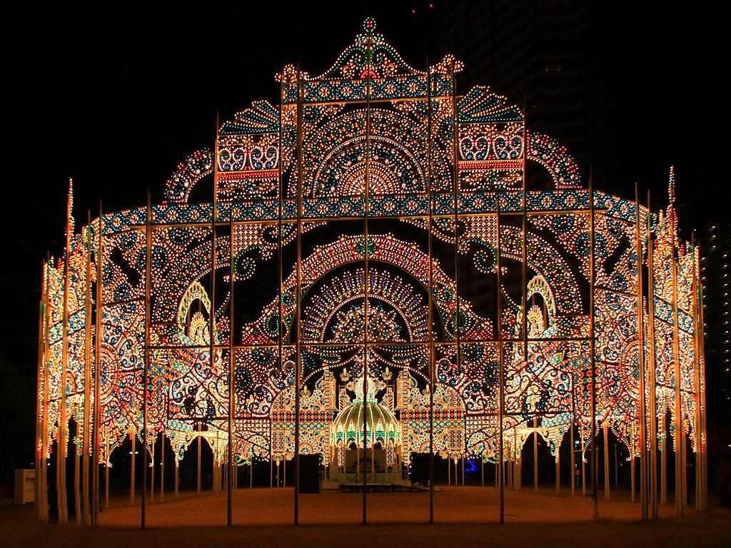 神戸ルミナリエ2013試験点灯
