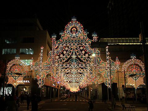 神戸ルミナリエ2014試験点灯
