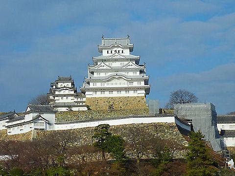姫路城ブルーインパルス