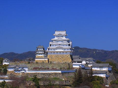 姫路城の写真 / イーグレひめじ屋上庭園・姫路城展望デッキから撮影