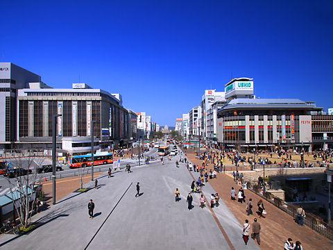 姫路城の写真 / 姫路駅北駅前広場・姫路城眺望デッキ「キャッスルビュー」
