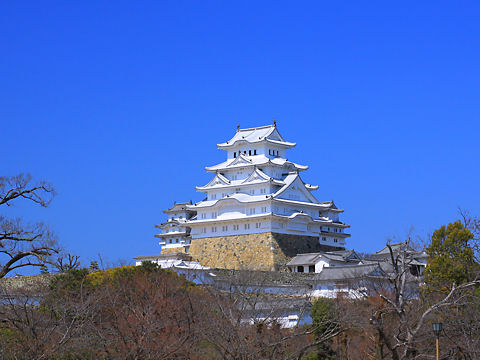 姫路城の写真 / 姫路城公園・城見台公園から撮影