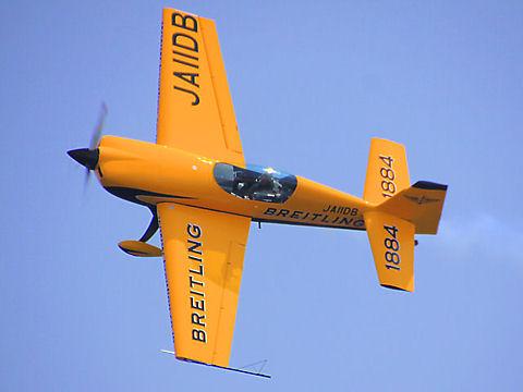 ブライトリング・ジェットチームによる航空ショー