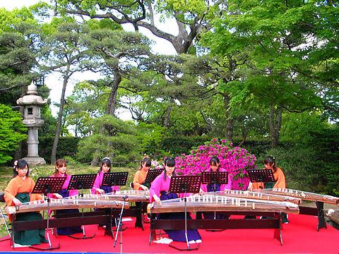 神戸市 相楽園つつじ遊山