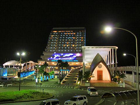 神戸メリケンパークオリエンタルホテルの夜